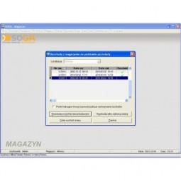 SOGA - moduł magazynowy